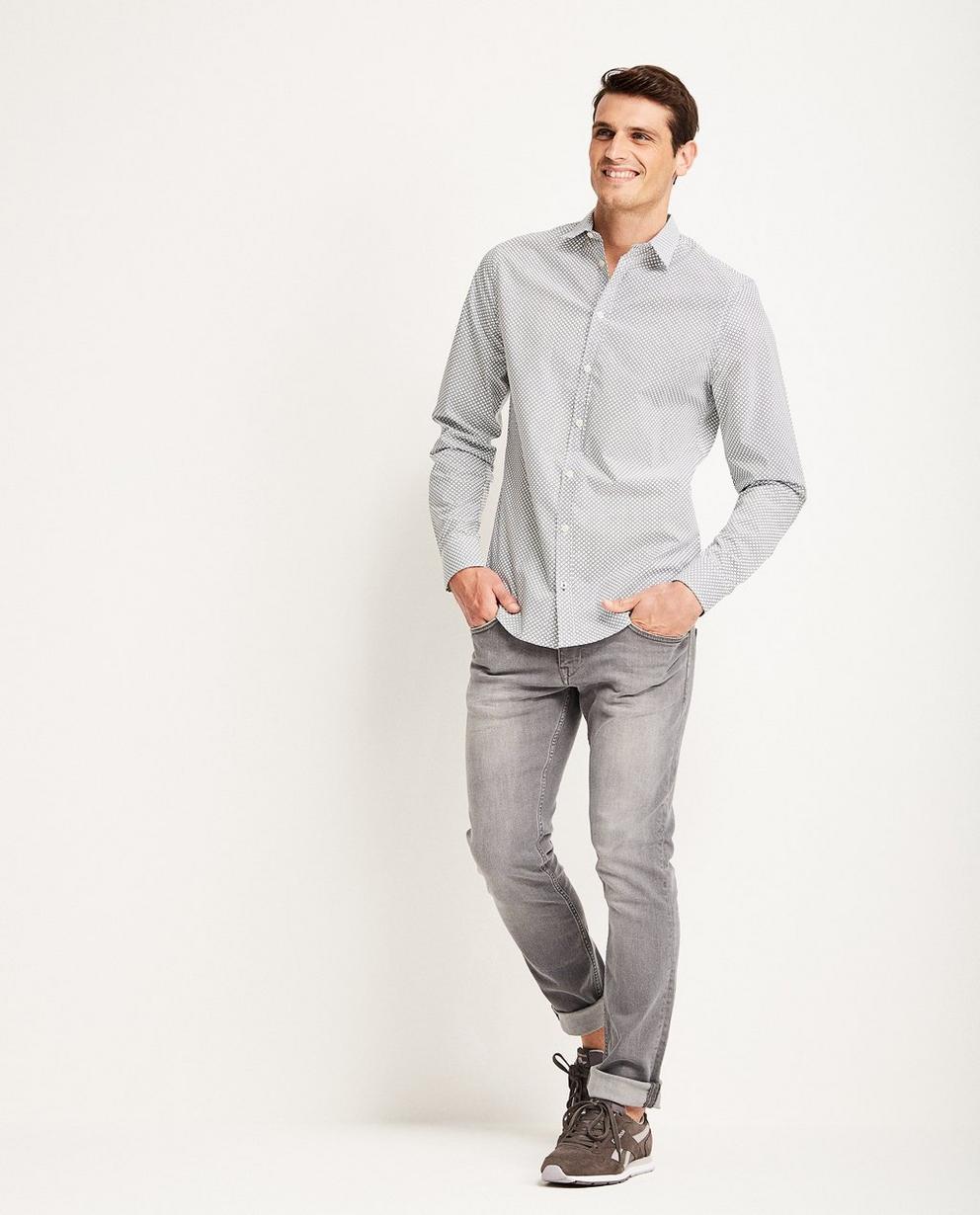 Jeans slim SMITH - délavé - JBC